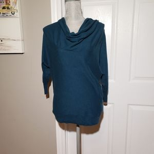 MOTH anthropologie sweater, cowl neck